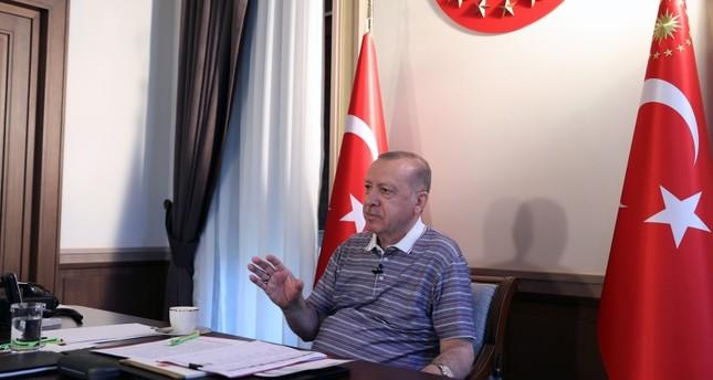 أردوغان: نسعى لضمان اعتراف دولي واسع النطاق بقبرص التركية
