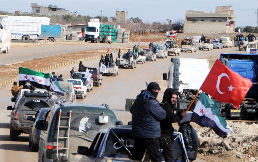 Turkey-backed FSA fighters were deployed Friday to the Azaz region in northern Syria near the Turkish border to encircle Afrin.