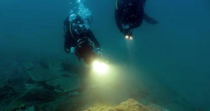 Ancienne route maritime découverte dans le sud de la Turquie