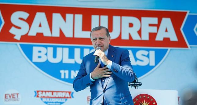 أردوغان: شهداء درع الفرات حلقة في سلسلة النضال التركي السوري المشترك