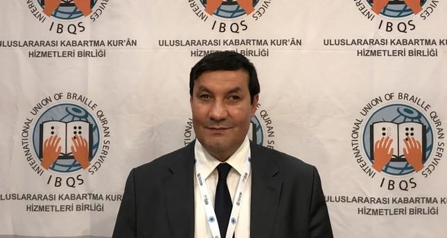 مدير اتحاد خدمات القرآن الكريم (الأناضول)