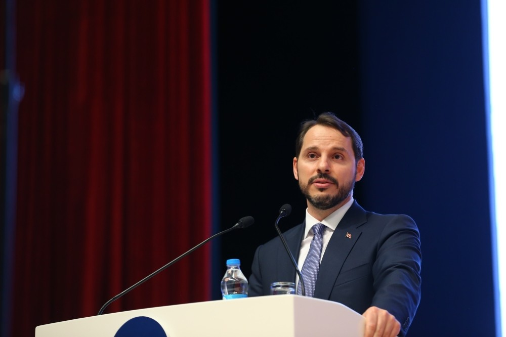 Treasury and Finance Minister Berat Albayrak.