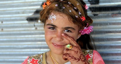 pPeople in the Iraqi city of Mosul celebrated their first Muslim Eid holiday without Daesh in years on Sunday after the terrorists were ejected from much of the city, and hoped the battle to...