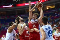 Hosts Turkey defeated Great Britain 84-70 in the FIBA EuroBasket 2017 men's group D match on Saturday at Fenerbahçe Ülker Sport Arena in Istanbul.