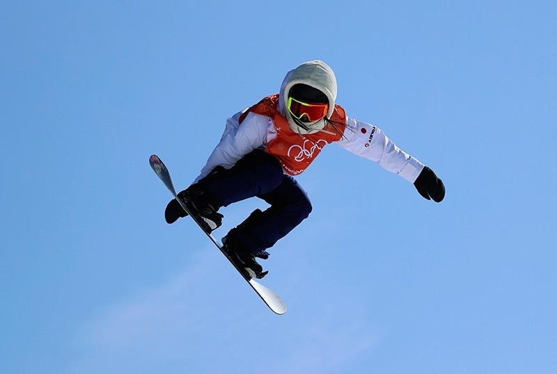 Reira Iwabuchi of Japan trains ahead of 2018 Winter Olympic Games in Pyeongchang, South Korea, Feb. 7, 2018. (Reuters Photo)