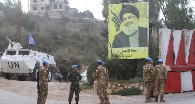 موقع لحزب الله في الجنوب اللبناني (AP)