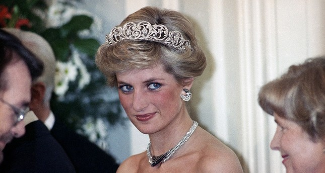 In this Monday, Nov. 2, 1987 file photo, Britain's Diana, the Princess of Wales, is pictured during an evening reception in the Godesberg Redoute in Bonn, Germany. (AP Photo)