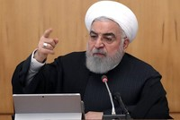 Iran's Rouhani threatens US, EU forces in Middle East