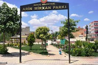 Local residents demanded YPG terrorist's name removed from local park sign