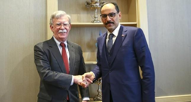 قالن يبحث مع مستشار الأمن القومي الأمريكي العلاقات الثنائية والتطورات الأخيرة في سوريا
