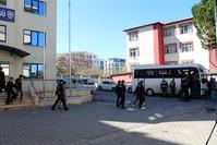 المهاجرين غير النظاميين في مركز الشرطة (İHA)
