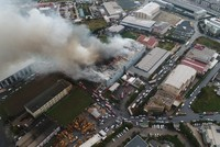 Fire that engulfed 3 factories now under control