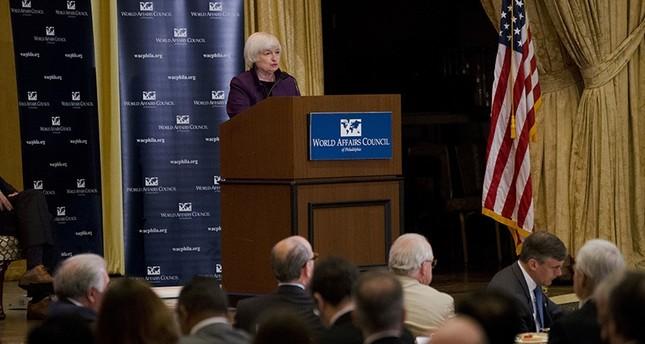 Federal Reserve Chair Janet Yellen speaks in Philadelphia, Monday, June 6, 2016. AP Photo