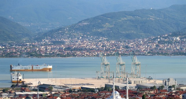 Turkey's Izmit named among largest port cities in Europe