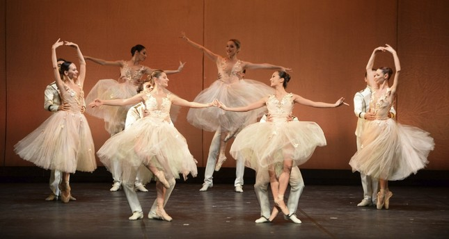 A scene from the world-renowned Hamlet ballet.