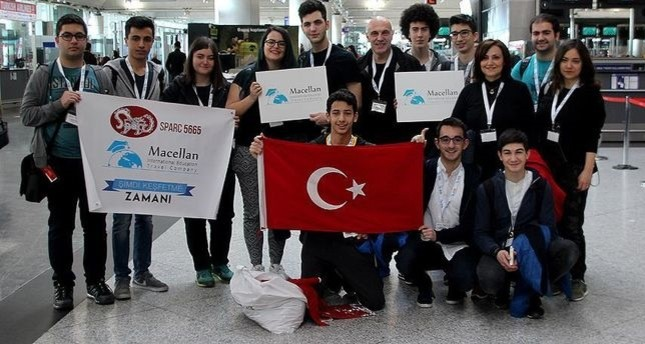 Turkish high schoolers travel to US for robotics competition