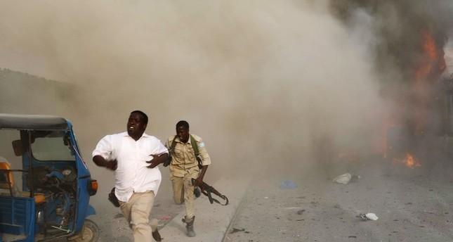 ارتفاع حصيلة التفجيرات في مقديشو الجمعة إلى 41 قتيلا على الأقل