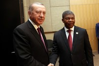Erdoğan meets South African, Togolese, Angolan counterparts in BRICS summit