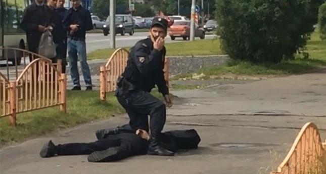 ثمانية جرحى في هجوم بسكين في روسيا