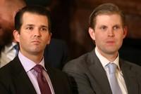 ابنا الرئيس ترامب على قائمة تضم 81 اسماً في تحقيق فساد جديد