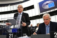 """Juncker: Risiko eines chaotischen Brexit ist """"sehr real"""""""