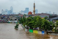 Heavy floods cripple Indonesia's capital Jakarta