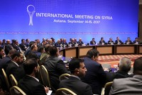 Turkey, Iran, Russia agree on borders of Syria de-escalation zones in Astana talks