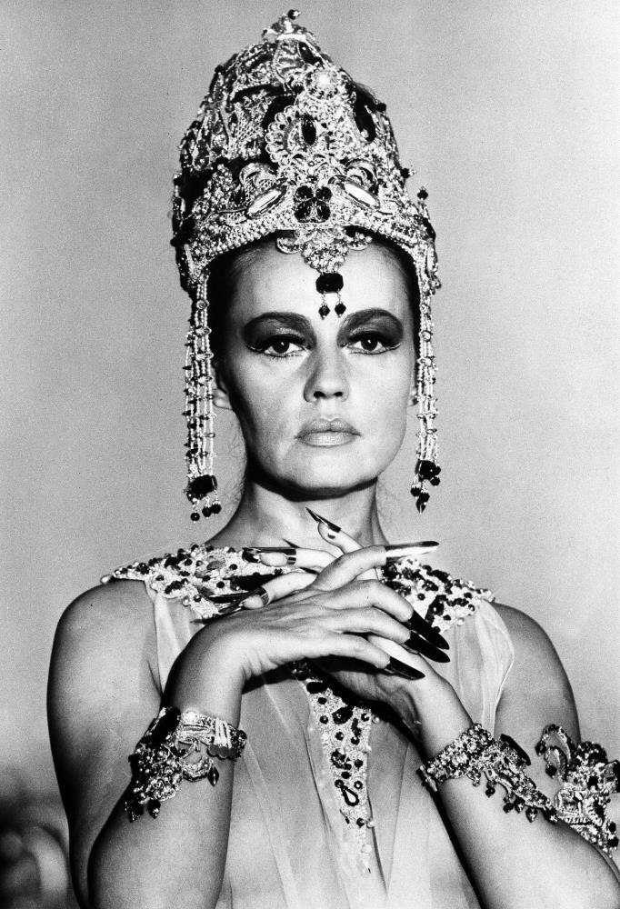 French actress Jeanne Moreau is seen in her role as u201cMata Hari, Agent H-21,u201d in Paris.