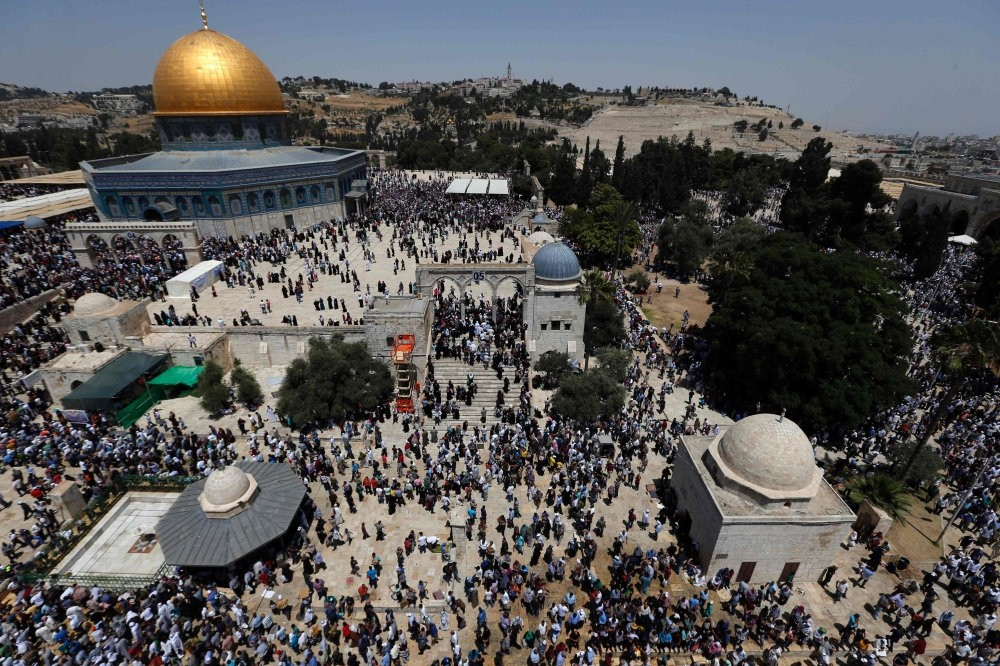 The Al-Aqsa mosque compound in Jerusalem is a popular destination for Turkish tourists.
