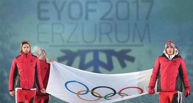 European Youth Winter Olympics begin in Erzurum
