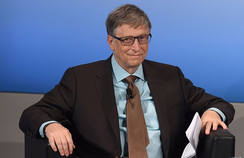 Microsoft founder Bill Gates attends a panel talk during the second day of the 53rd Munich Security Conference (MSC) at the Bayerischer Hof hotel in Munich, southern Germany, on February 18, 2017. (AFP Photo)