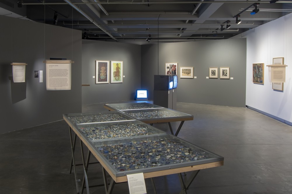The exhibition presents a selection of archival materials and works of art along with oral narratives relating to the productions of Gazi Education Institute students.