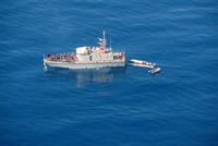 German NGO ship enters Italian waters, defying ban
