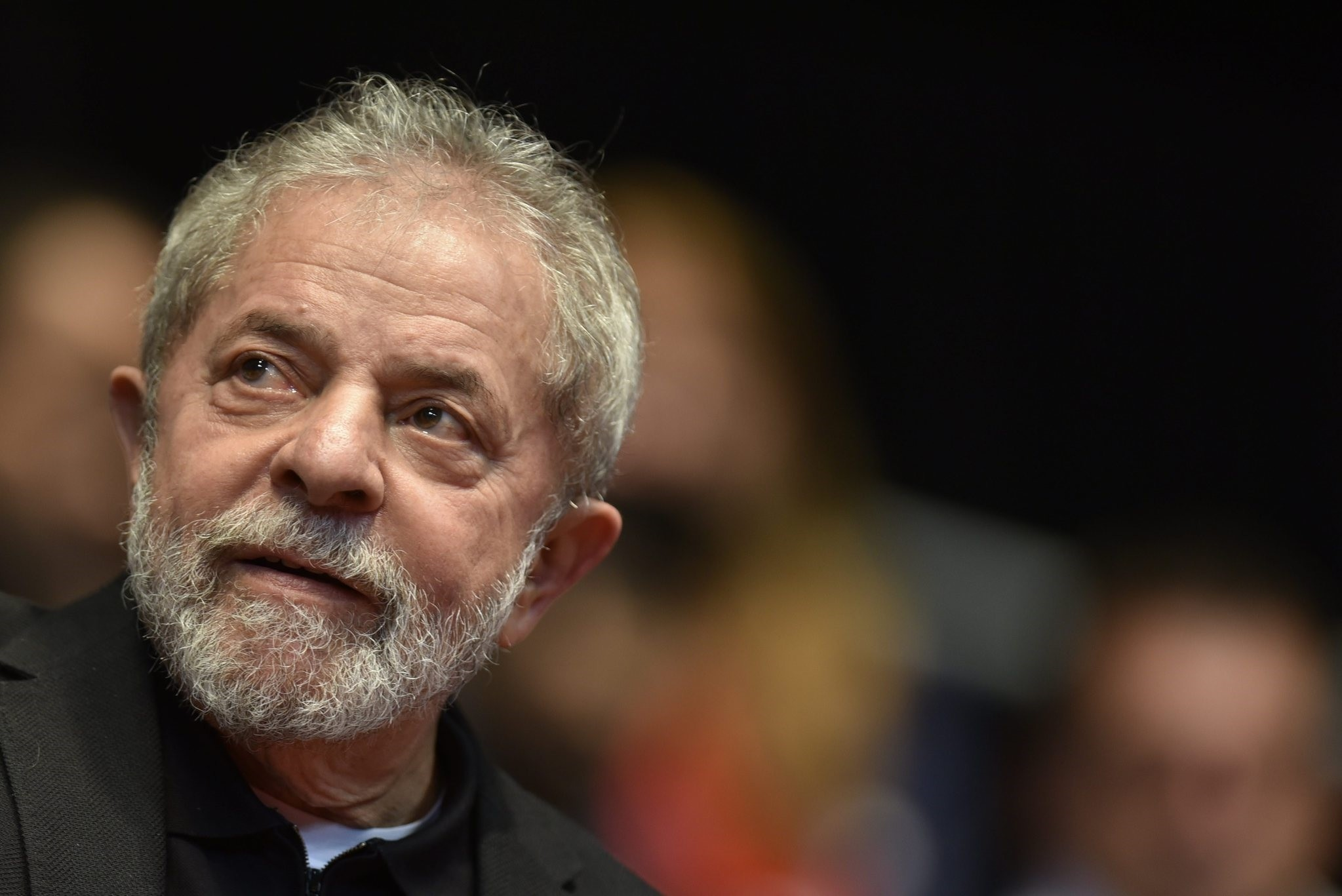 This file photo taken on August 29, 2015 shows Brazilian former president (2003-2011) Luiz Inacio Lula Da Silva participating in the 12th Congress of the Brazilian Workers Union (CUT) in Belo Horizonte, Brazil, on August 28, 2015. (AFP Photo)