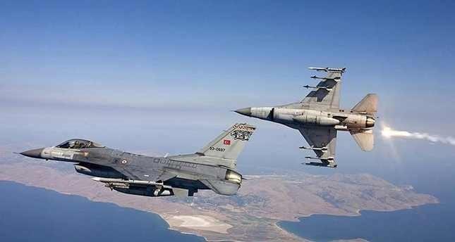 المقاتلات التركية تواصل قصف مواقع بي كا كا شمالي العراق
