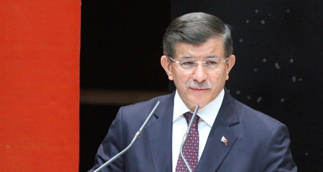 Former PM Davutoğlu