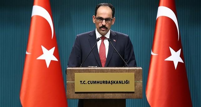 متحدث الرئاسة التركية: قرار توفير الحماية الدولية للفلسطينيين نجاح للقضية الفلسطينية والعدالة