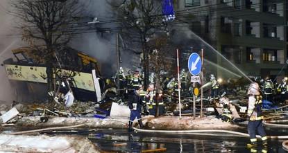اليابان.. 41 مصاباً في انفجار ضخم بمطعم شمالي البلاد