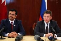 وزير الطاقة الروسي يبحث مع نظيره القطري مباحثات في قضايا مشتركة