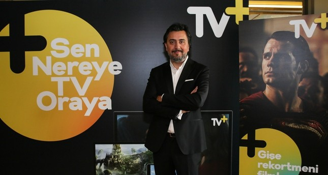 Photo shows Digital Media and Entertainment Services Director Barış Zavaroğlu. (IHA Photo)