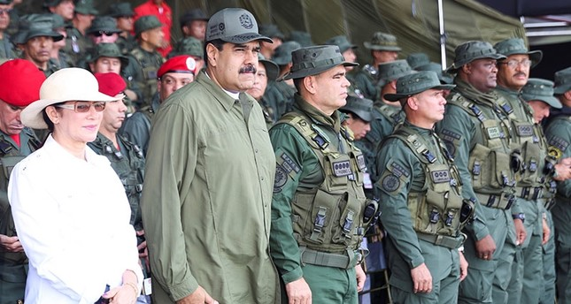 Venuzuela's Maduro tells army to be ready to defend country against US 'threats'