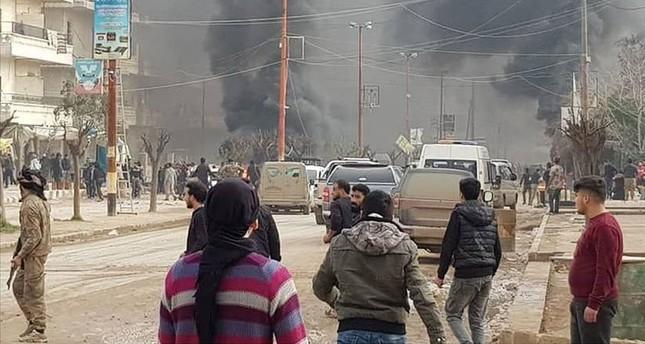 مقتل مدني في تفجير إرهابي بمدينة عفرين السورية
