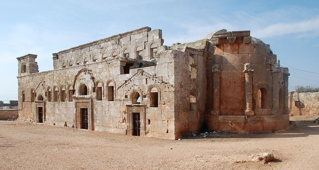 Notre Dame's architecture inspired by 5th-century gothic church in Syria's Idlib; Daily Sabah