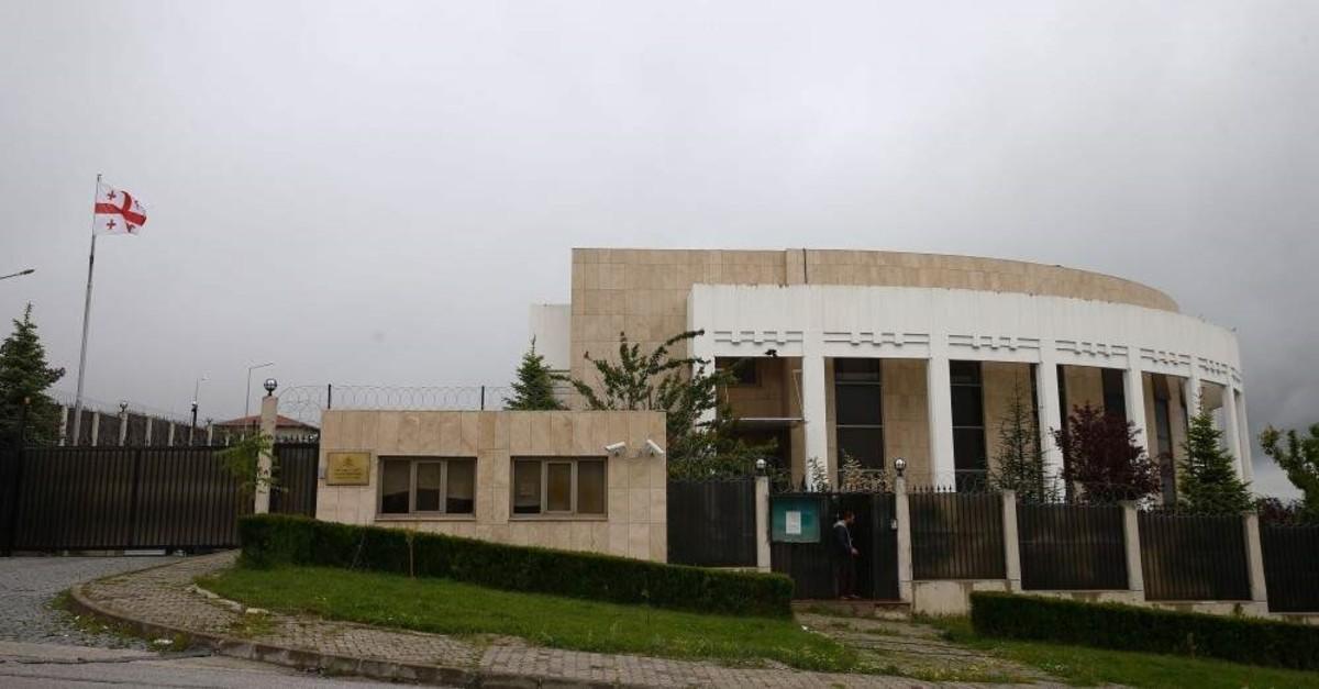 Georgian Embassy in Turkey.