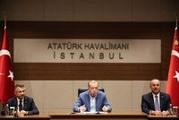 Erdoğan flies to Tajikistan to discuss economic, regional developments with Asian leaders
