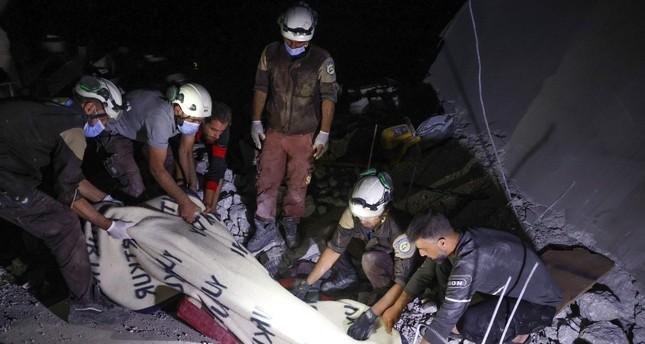 مقتل 6 مدنيين في هجوم للنظام السوري على إدلب