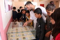 Teacher's interest in fossils turns into school museum in southeastern Turkey