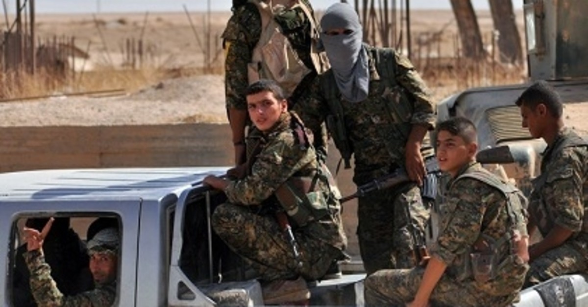 The YPG terrorist group also received heavy criticism for its use of minors in its ranks (File photo)