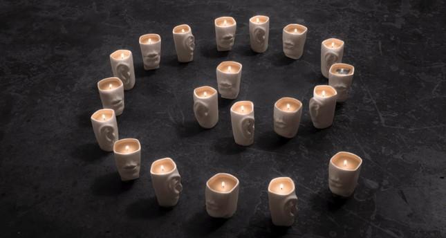 Artist reveals love through ceramics, words, colors and smells