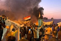 Iraq's top cleric dissolves 'blue caps' accused of deadly attacks on protests